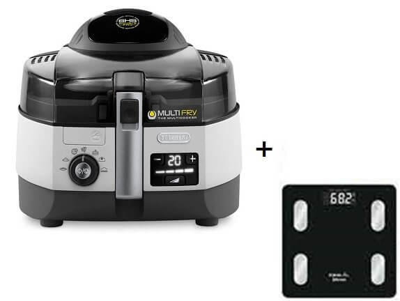 Delonghi FH1394 Multifry Extra Chef Low-Oil Multicooker, 1 7